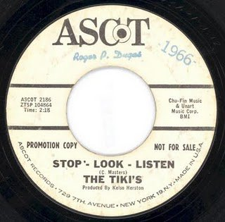 tikis stop look and listen 1966